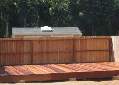 Hogan Redwood Deck